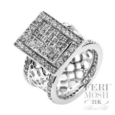 Eternity Ring - Solid white gold, genuine white diamonds, will include a customized IGI/FERI MOSH Appraisal. Eternity Ring, Cute Jewelry, Bracelet Watch, White Gold, Bling, Display, White Diamonds, Stone, Galleries