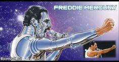 "23 Me gusta, 0 comentarios - Joyeishak Art ✍️📸🎥 (@joyeishak_art) en Instagram: ""Cyber Fan Art Freddie Mercury - Queen Homenaje a una gran Banda, un gran Artista!! #freddiemercury…"" Freddie Mercury, 23 And Me, Cyber, Fan Art, Instagram, Fictional Characters, Make Art, Artists, Sash"
