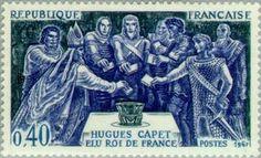 Hugh Capet (938-996) elected King of France
