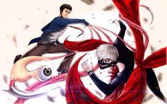 Shinichi Izumi vs Kaneki Ken by earthonmars on DeviantArt