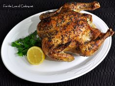 For the Love of Cooking » Greek Roasted Chicken