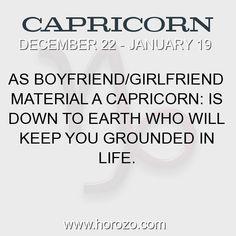 Fact about Capricorn: As boyfriend/girlfriend material a Capricorn: Is down to... #capricorn, #capricornfact, #zodiac. More info here: https://www.horozo.com/blog/as-boyfriendgirlfriend-material-a-capricorn-is-down-to/ Astrology dating site: https://www.horozo.com