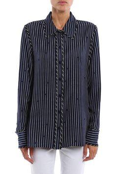 #Italist - #Diane von Furstenberg Diane Von Furstenberg Striped Shirt - AdoreWe.com