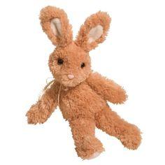 Dewdrop the Fluffy Tan Bunny Stuffed Animal at Stuffed Safari (650 RUB) ❤ liked on Polyvore