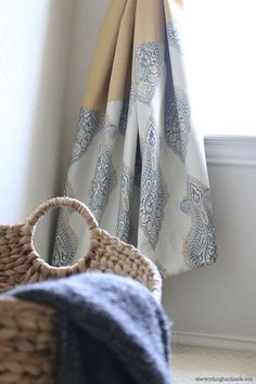 DIY // Make your own custom Bedroom curtains!