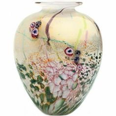 Jonathan Harris Wilderness Glass Vase - Opal