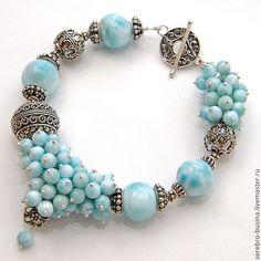 "Finding the little ""grape clusters"" pretty interesting. Cute Bracelets, Gemstone Bracelets, Handmade Bracelets, Jewelry Bracelets, Handmade Jewelry, Unique Jewelry, Stone Jewelry, Beaded Jewelry, Beaded Necklace"