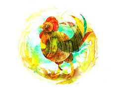 "Check out new work on my @Behance portfolio: ""Illustration ""Cock"""" http://be.net/gallery/47992845/Illustration-Cock"