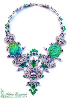 a splendide necklace, by Alina Emandi - Romania