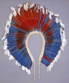 Kayapo feather art