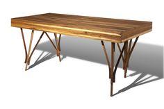 Guaimbê desk // escrivaninha Guaimbê // design Paulo Alves // photo Pierre Refalo