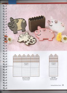 Pigs in a Poke Plastic Canvas Pattern 2/5