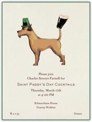 Paperless Post - Irish Terrier