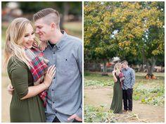 Bishops Pumpkin Patch Engagement Shoot