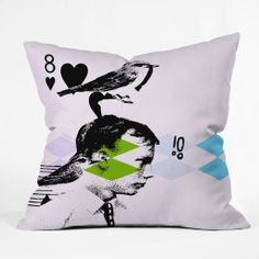 Randi Antonsen Poster Hero 2 Outdoor Throw Pillow | DENY Designs Home Accessories