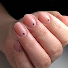 Dots nails - minimalism nail art Dot Nail Designs, Nails Design, Dot Nail Art, Minimalism, Nailart, Tattoos, Instagram, Tatuajes, Tattoo