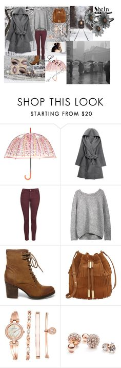 """""""Cold"""" by yasmin-agnes ❤ liked on Polyvore featuring Vera Bradley, WithChic, Topshop, Steve Madden, Vince Camuto, Anne Klein and GUESS"""