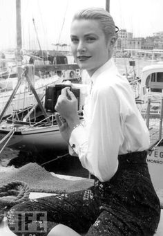 Grace Kelly in Cannes