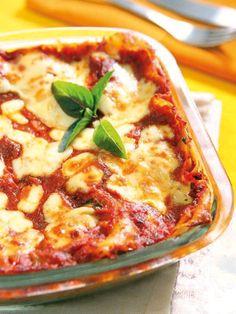 Che ne dite di provare le Lasagne leggere al sugo di pomodoro? Il successo in famiglia è assicurato! Ottime anche per restare leggeri con gusto!