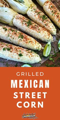 This delicious grilled mexican street corn is the perfect classic summer staple. Check out the grilled corn recipe for a healthy BBQ side dish now! #BBQsidedishes #BBQrecipes #grilledcorn #grilledcornrecipes Mexican Street Corn, Side Dishes For Bbq, Corn Recipes, How To Cook Steak, Food For A Crowd, Original Recipe, Grilling Recipes, Quick Easy Meals, Appetizers