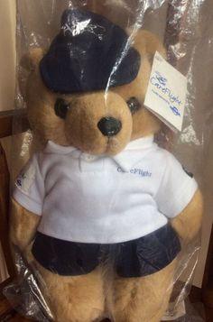 NRMA careflight bear Physio In sealed bag BRAND NEW Care Flight Teddy Bear