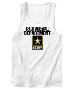 Beach Volleyball Department / U.s. Army Tank Top