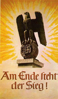 German - Cartel de guerra - Segunda guerra mundial - Second World War - WWII