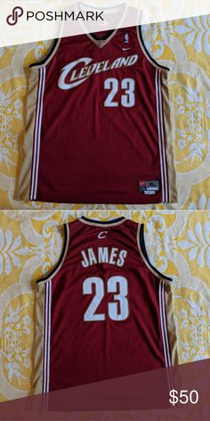 d206fb438 Nike LeBron James cavaliers xl Jersey Nike swingman LeBron James cavaliers  xl Jersey Number 23 Cavs