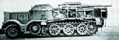1943 VOMAG F3 (Sd.Kfz.9) with flak cannon