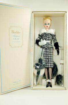 Barbie Silkstone Walking Suit Doll - Mattel - NIB - From 2012