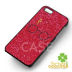 Harry Potter glitter red -end for iPhone 6S case, iPhone 5s case, iPho – Fortunecoocase