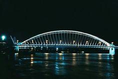 Bratislava most apollo Bratislava, Sydney Harbour Bridge, Apollo, Travel, Viajes, Destinations, Traveling, Trips, Apollo Program