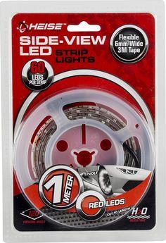 Heise - 3.28' LED Strip Light - Red