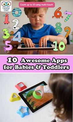 10 Amazing Apps for Babies & Toddlers available for Android, iOS Educational Apps For Kids, Learning Apps, Learning The Alphabet, Toddler Apps, Toddler Preschool, Toddler Activities, Baby Apps, Games For Toddlers, Awesome