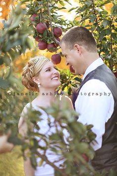 Apple Orchard wedding shoot
