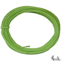 Wired Jute Roping Color: Lime Green Burlap roping, wired, 4 mm in width; 25 yards in length
