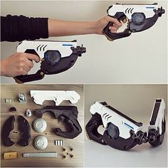 "174 Likes, 7 Comments - 3D Print Guy (@3d_printguy) on Instagram: ""Cheers! 3D printed Tracer guns from Overwatch by Simone Fontana #overwatch #overwatchcosplay…"""
