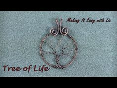 YOU FIRST MUST WATCH my tutorial: https://www.youtube.com/watch?v=xLz3-3Sk-YU to make the frame. In this video I show you how I make my Tree Of Life pendant....