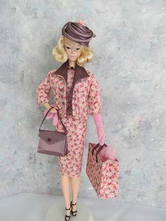 """OOAK Handmade Vintage Barbie/Silkstone """"Plum Suitable!"""" by Ann"""
