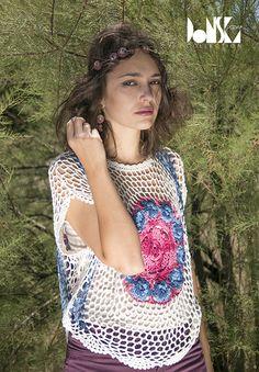 Hippy Chic bohème Hippie Chic, Hippy, Crochet Top, Tops, Women, Fashion, Moda, Fashion Styles, Fashion Illustrations