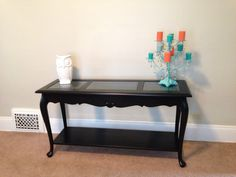 Sofa table- after
