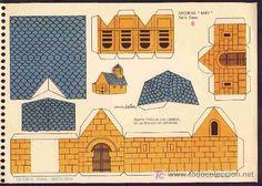 Recortable de Construcciones: RECORTES BABY de Editorial Roma, num.6