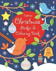 """""""Christmas sticker and colouring book"""" at Usborne Children's Books Christmas Books For Kids, Christmas Is Coming, Christmas Morning, Christmas Colors, Christmas Gifts, Christmas Ornaments, Christmas Ideas, Christmas Wonderland, Coloring Books"""