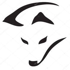 Resultado de imagen para zorro simbolo Animal Sketches, Animal Drawings, Design Loup, Fuchs Silhouette, Fox Tattoo Design, Fuchs Tattoo, Anime Elf, Wood Badge, Arte Tribal