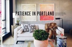 Guehne-Made - Kansas City | Home Remodeling | Home Styling | Custom Woodworks | Custom Furniture: Rue Magazine | Patience in Portland