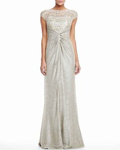 David Meister, $650 at Neiman Marcus | 52 Wedding Dresses That Aren't Strapless
