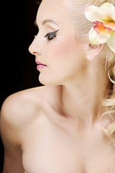 Ślubna stylizacja retro - Małgorzata Bardadyn - make up artist