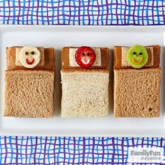 Sandman Sandwiches: Of course you could always order a pizza -- but these snooze-y snacks are pretty irresistible (and kids can make their own).