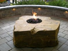 Timeless Stone and Brilliant Fire :: Fireboulder