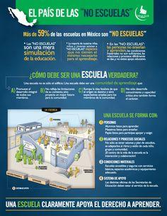 Infografía: El País de las NO ESCUELAS